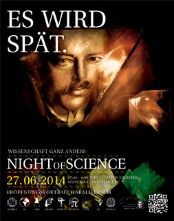 Night of Science Plakat